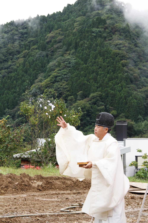 大江ノ郷自然牧場 地鎮祭