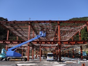 大江ノ郷自然牧場-新施設建設中