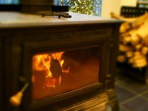ココガーデン_暖炉