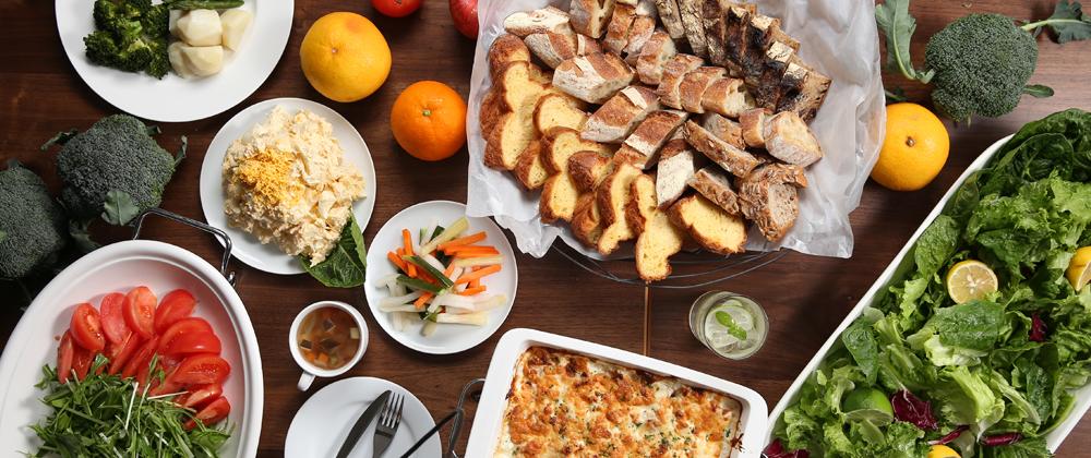 OENOSATO TERRASSE「新鮮野菜料理のビュッフェ」