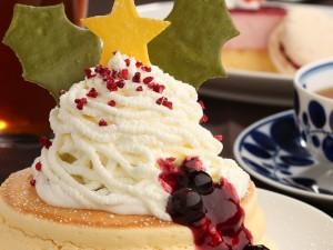 ココガーデンークリスマスパンケーキ