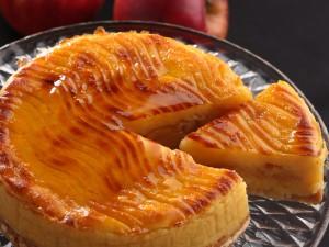 鳥取林檎のスイートポテトケーキ