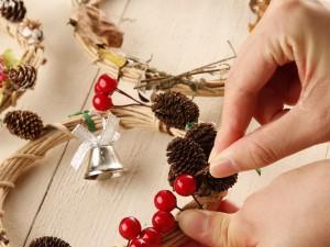 体験教室「クリスマスリース作り」