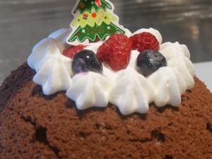体験教室「クリスマスドームケーキ作り」