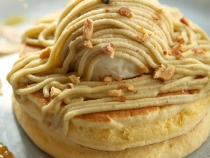 モンブランパンケーキ【ココガーデン】