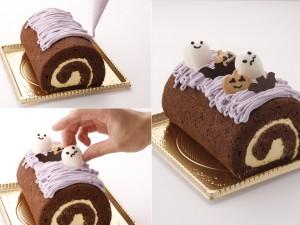 親子体験郷のパティシエと一緒にハロウィンロールケーキを作ろう!【大江ノ郷自然牧場】
