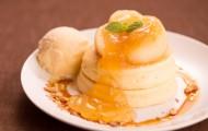 林檎のパンケーキ