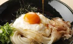 大江ノ郷製麺所 ねばりっこの月見ぶっかけ