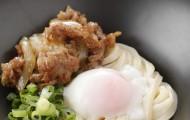 大江ノ郷製麺所 生姜焼き釜玉