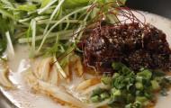 大江ノ郷製麺所「冷やし豆乳坦うどん」