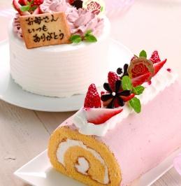 母の日デコレーションケーキ【大江ノ郷自然牧場】